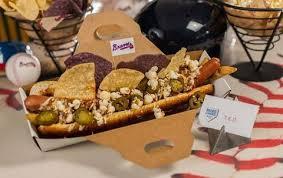 Nathan's Hot Dog Vending Machine Impressive 48 Best Ballpark Hot Dogs Baseball Stadium Hot Dogs Delish