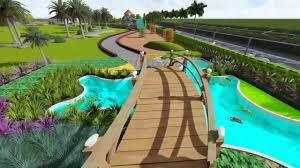 Farm Landscape Design Ideas Landscape Design In 3d Of Farm House By Nandu Sundeep M Sc