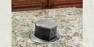 pop up receptacle. Beautiful Pop Hubbell Wiring DeviceKellems Introduces First PopUp Receptacle UL Listed  For Countertops To Pop Up