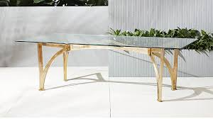 aqueduct clear glass table ...