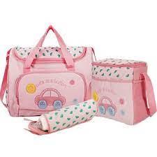 Bộ túi đựng đồ 3 chi tiết cho mẹ và bé - tặng kèm khăn voan trùm mặt cho bé  - Sắp xếp theo liên quan sản phẩm