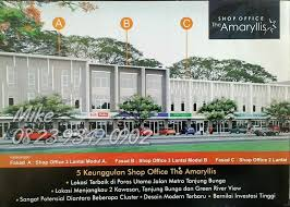 office the shop. 5 Keunggulan Shop Office The Amaryllis: *Lokasi Terbaik Di Poros Utama Jalan Metro Tanjung Bunga * Lokasi Menjangkau 2 Kawasan, \u0026 Green River