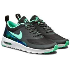 Air Max Thea Size Chart Nike Air Max Thea 5 5 Youth Green Glow Sneakers