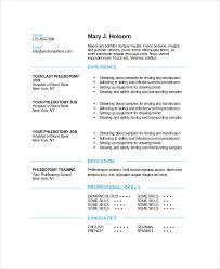 Phlebotomist Resume 14 Modern Blue Phlebotomy Template