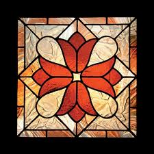 victorian stained glass patterns victorian tulips sunlight studio stained glass patterns