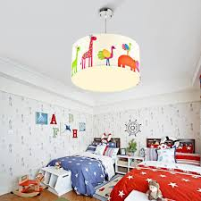 kids room ceiling lighting. chic zootopia fabric shade kids room ceiling lights drum shaped lighting s