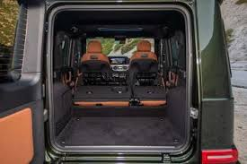 There's plenty of space for passengers, but overall cargo capacity trails class rivals. 2021 Mercedes Benz G Class Review Autotrader
