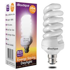 Energy Efficient Light Globes Iboutique 30w Bayonet B22 Daylight Energy Saving Light Bulb Equivalent Output 150 Watts 4 Pack For Sad Sufferers Snooker Pool Hobbies Crafts