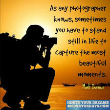 Beautiful Moments In Life Quotes Best Of As Any Photographer Knows Sometimes You Have To Stand Still In Life