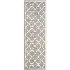 safavieh amherst dark grey indoor outdoor rug runner 2 6