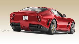 Ares Design Ares Design Turns 812 Superfast Into Modern Day Ferrari 250