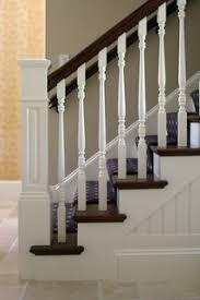 newton residence 2 - stairway - dpdk-38 - Traditional - Staircase - Boston  - by david phillips