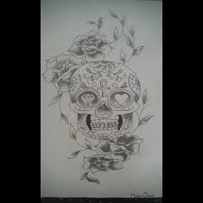 Tattoo Uploaded By Marie Claire Draw Drawing Skull