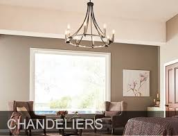 silver finish modern chandelier in living room
