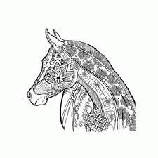Kleurplaat Mandala Paard Archidev Moeilijke Kleurplaten Voor