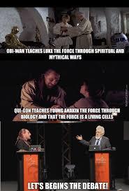 Qui-Gon Jinn Vs Obi-Wan Kenobi : The Force Debate by hazique ... via Relatably.com