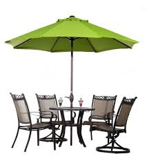 lime green patio furniture. Offset Patio Umbrella On Furniture Sets And Awesome Lime Green O