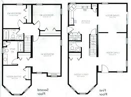 2 Story House Plans Floor Plan House 2 Story Magnificent Simple Floor Plans  2 Modern 2