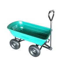 plastic garden cart duty plastic garden folding dump cart with four wheels plastic garden trolley cart plastic garden cart