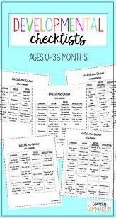 Infant Development Chart Checklist Developmental Milestones Checklist Speech Babies