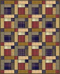 Scots Plaid quilt - could be made from men's dress shirt | Quilts ... & Scots Plaid quilt - could be made from men's dress shirt Adamdwight.com