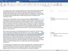How To Insert Comments In Word