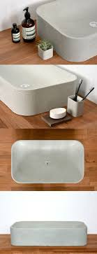 Bathroom Sink Material 17 Best Ideas About Concrete Sink Bathroom On Pinterest Concrete