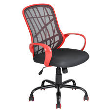 nice office chairs uk. Aingoo Office Task Chair Mesh Swivel Tilt Computer Desk Lumbar Support With Arms, Red Nice Chairs Uk