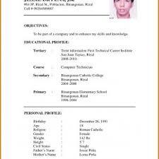 Letter Of Application On Resume Valid Resume Format Resume Format