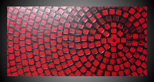 black and red painting on large canvas wall art acrylkreativ with regard to red wall art on wall art red with black and red painting on large canvas wall art acrylkreativ with