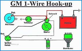 chevy one wire alternator wiring diagram wiring diagram libraries chevy one wire alternator wiring diagram