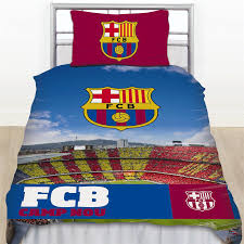 Scooby Doo Bedroom Accessories Barcelona Football Club Fc Barca Single Duvet Quilt Cover Bedding