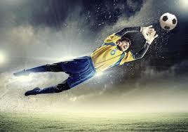 Fotobehang Voetbal Fotobehang Voetbal Keeper