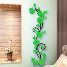 d vase flower tree diy removable art vinyl wall stickers decal mural home decor for home