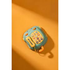 Điện thoại đồ chơi cho bé, đồ chơi phát nhạc cho trẻ từ 0-3 tuổi - giáo dục  sớm [Mã FASHION10K hoàn 10K xu đơn 0Đ] - Đồ chơi nhạc cụ