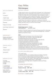Web Developer Resume Template | The Best Template Ideas