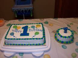 Baby Boys First Birthday Cakecentralcom
