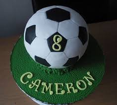 How To Decorate A Soccer Ball Cake football cake Soccer ball aka Football birthday cake in other 30