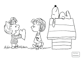 Thanksgiving Coloring Pages Charlie Brown Peanuts Coloring Pages