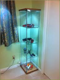 detolf glass door cabinet lighting home dashing