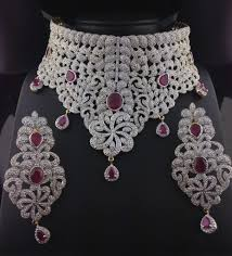 indian diamond necklace sets new diamond jewelry sets for brides adbrl ttr american diamond grand of