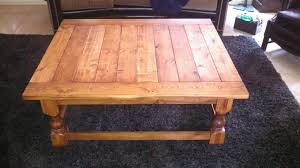 Coffee Table, Latest Brown Rectangle Farmhouse Wood Coffee Table Legs  Design Ideas To Decorating Living ...