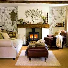 Living Room Decoration Themes Cosy Country Living Room House Photo