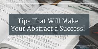 Tips That Will Make Your Abstract a Success!   Wordvice