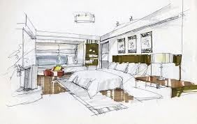 Amazing Interior Architecture Sketches With Interior Design Sketch