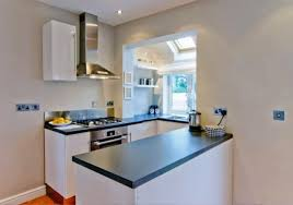 apartment kitchens designs. Apartments : Cool Small Apartment Kitchen Design Inspiration With L Shape White Modern Cabinet Combine Rectangle Silver Stove Added Chrome Kitchens Designs