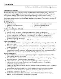 Of Business Planning Resume Event Plan Direc Cmerge