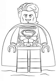 Small Picture Lego Superman coloring page Free Printable Coloring Pages