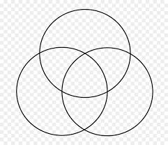 Transparent Venn Diagram Circle Background Clipart Diagram White Black