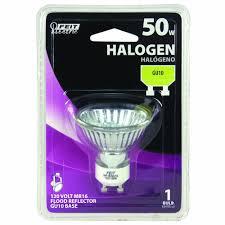 Flood Light For Bearded Dragon Feit Electric Bpq50mr16 Gu10 50 Watt Halogen Reflector Flood Bulb With Gu10 Base Clear 2 Pack